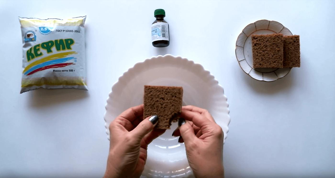 Рецепт маски из ржаного хлеба