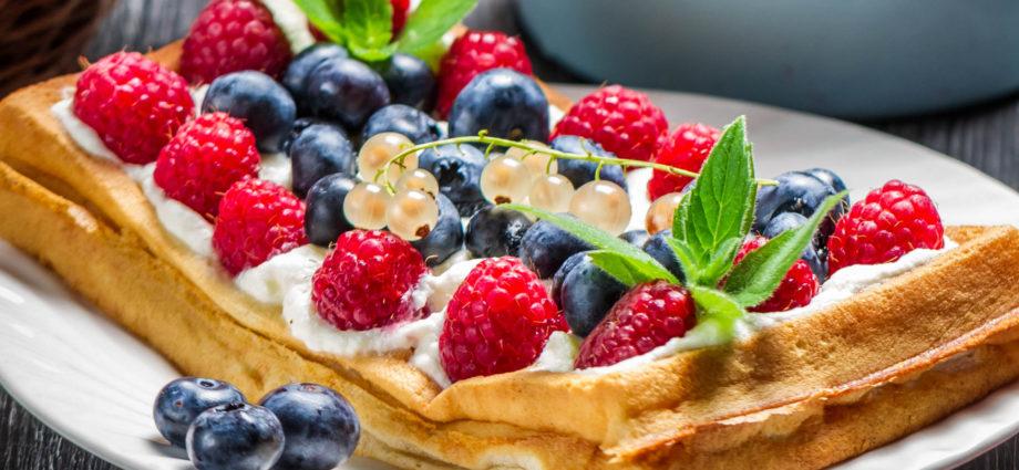 Лучшие рецепты приготовления бельгийских вафель