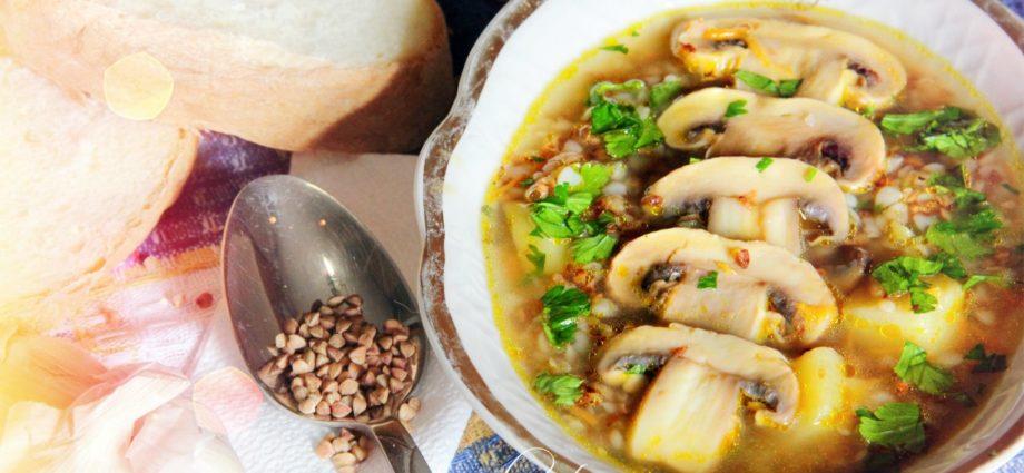 Способы приготовления гречневого супа