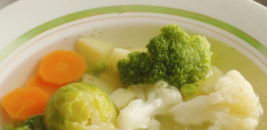 Как правильно приготовить суп из замороженных овощей