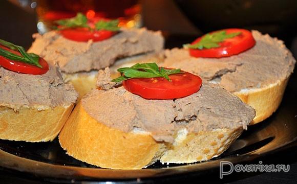 Паштет из телячьей печени: вкусные рецепты