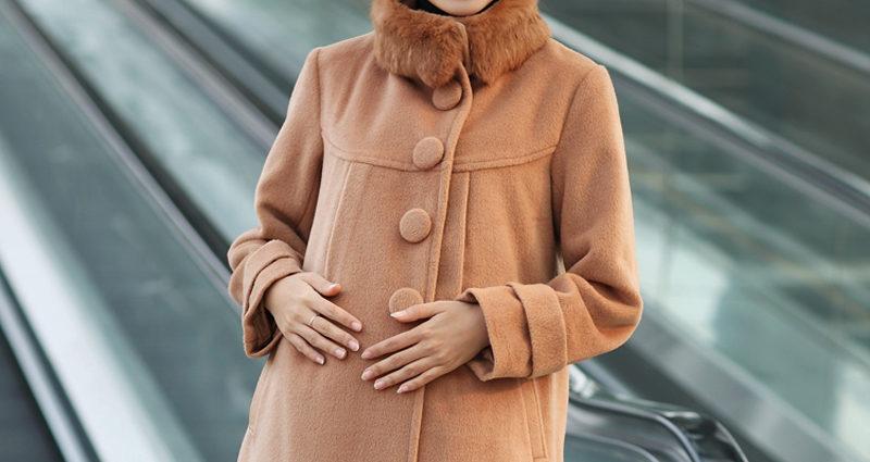 Пальто для беременных – зима, весна-осень
