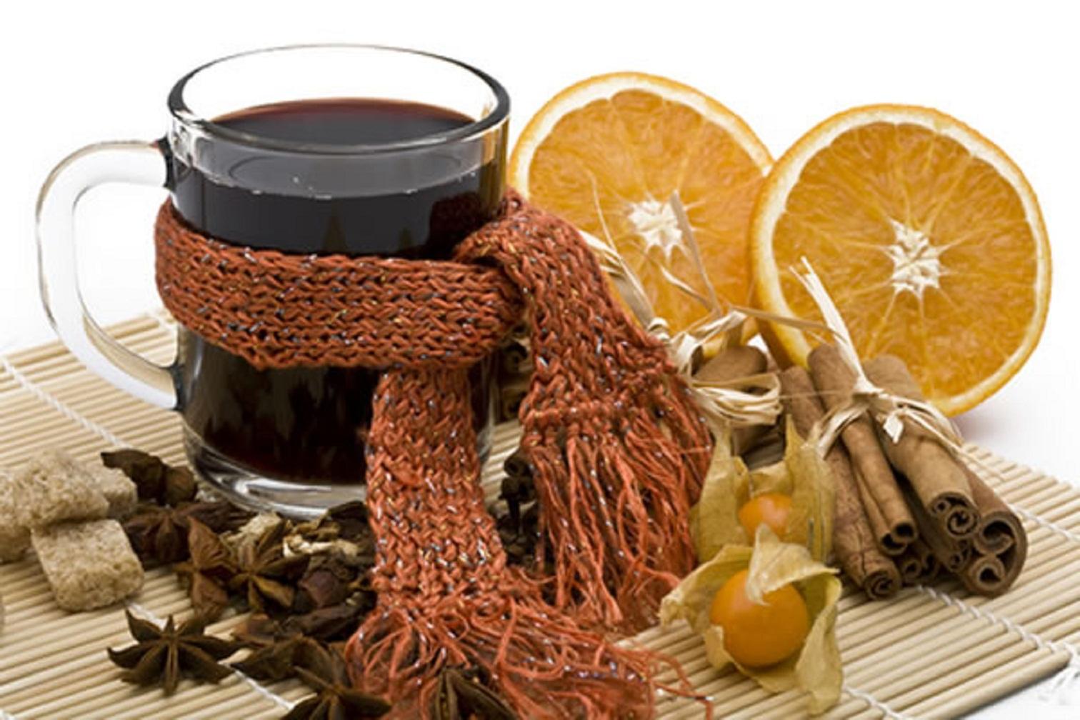 Горячее вино от простуды