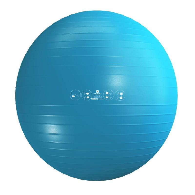 Упражнения с мячом для позвоночника