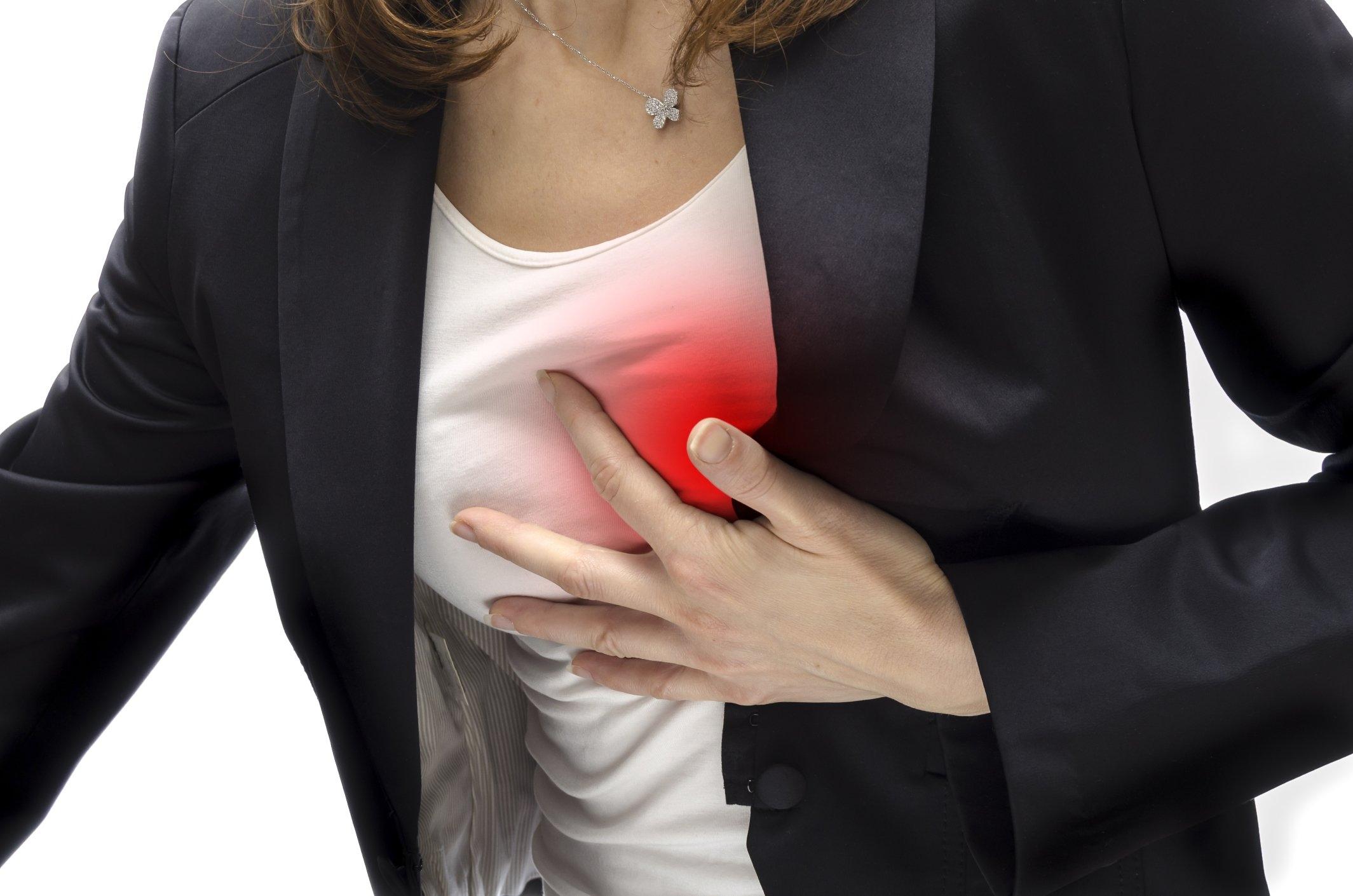 Давящая боль в области сердца