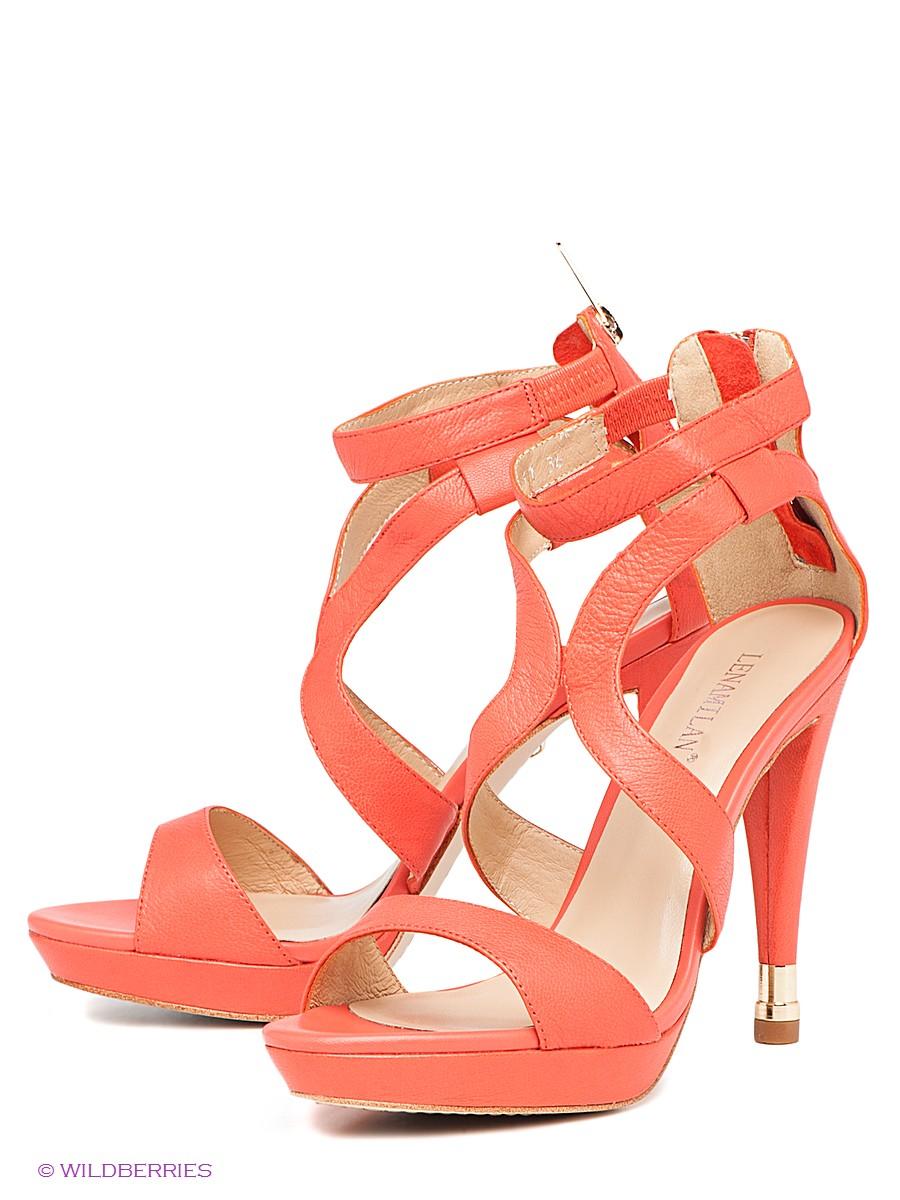 коралловые туфли