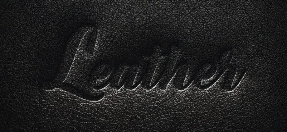 Pressed leather прессованная кожа