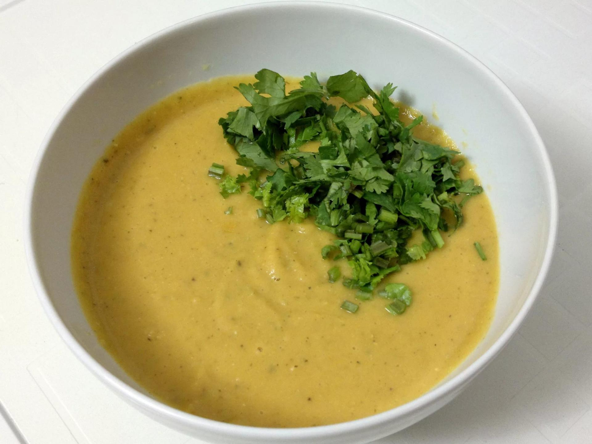 супа-пюре из чечевицы